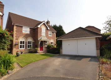 Thumbnail 4 bed detached house for sale in Haydock Close, Macclesfield, Cheshire