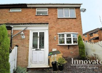 Thumbnail 4 bed end terrace house for sale in Brookhill Close, Willenhall