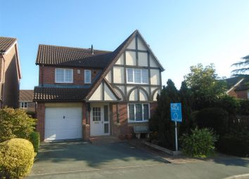 Thumbnail 4 bed detached house for sale in Millbrook Drive, Shawbury