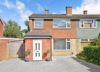 Thumbnail 3 bed semi-detached house for sale in Forest Drive, Walderslade, Chatham, Kent