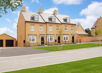 "Thumbnail 3 bed terraced house for sale in ""Kennett"" at Southern Cross, Wixams, Bedford"