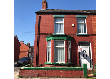 Thumbnail 3 bed terraced house for sale in Crawford Avenue, Liverpool