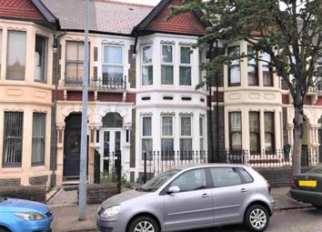 Thumbnail 4 bed terraced house for sale in Shirley Road, Cardiff, Glamorganshire
