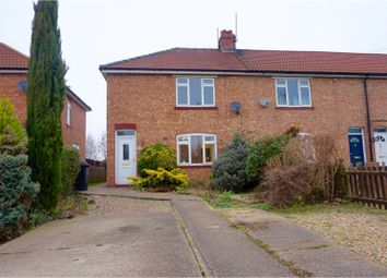 Thumbnail 3 bedroom end terrace house for sale in Spalding Road, Deeping St. James