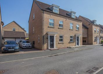 Thumbnail 3 bed semi-detached house for sale in Ruster Way, Hampton Hargate, Peterborough, Cambridgeshire.