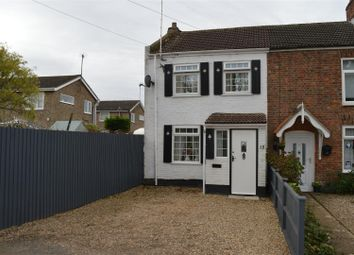 Thumbnail 2 bedroom end terrace house for sale in School Road, St. Germans, King's Lynn