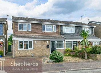 Thumbnail 3 bed semi-detached house for sale in Wharf Road, Broxbourne, Hertfordshire