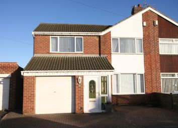 Thumbnail 3 bed semi-detached house for sale in Mark Avenue, Norton, Stockton On Tees, Tees Valley
