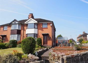 Thumbnail 3 bed semi-detached house for sale in Newcastle Road, Leek