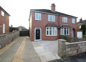 Thumbnail 3 bed semi-detached house for sale in Ashcroft Grove, Porthill, Newcastle