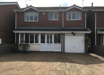 Thumbnail 5 bed detached house for sale in Herrick Close, Enderby, Leicester