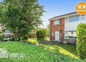 Thumbnail 3 bed semi-detached house for sale in County Road, Leeswood, Mold