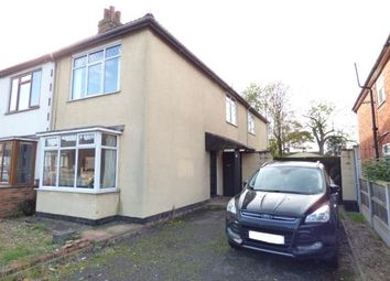 Thumbnail 3 bed semi-detached house for sale in Brighton Avenue, Syston, Leicester, Leicestershire