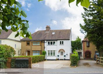 Thumbnail 4 bed semi-detached house for sale in Ware Road, Hoddesdon, Hertfordshire