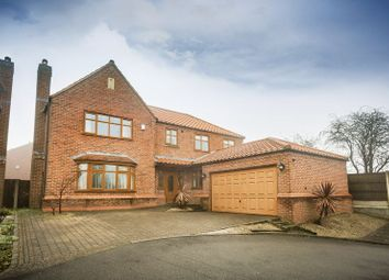 Thumbnail 5 bed detached house for sale in The Gables, Forest Town, Mansfield