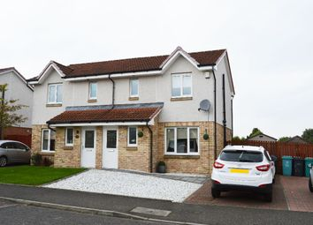 Thumbnail 3 bed semi-detached house for sale in Bluebell Wynd, Wishaw