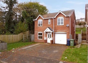 Thumbnail 4 bed detached house for sale in Maes Berea, Bangor