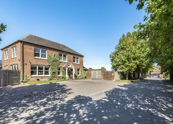 Thumbnail 5 bed equestrian property for sale in Upper Lambourn, Hungerford