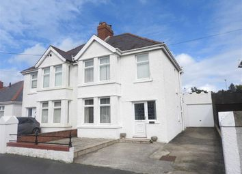 Thumbnail 3 bed semi-detached house for sale in Feidrhenffordd, Cardigan