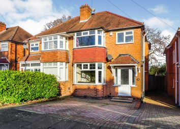 Thumbnail 3 bed semi-detached house for sale in Chadwick Avenue, Birmingham