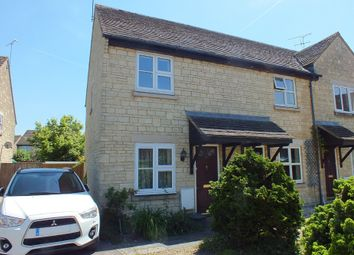 Thumbnail 2 bed end terrace house for sale in John Tame Close, Fairford