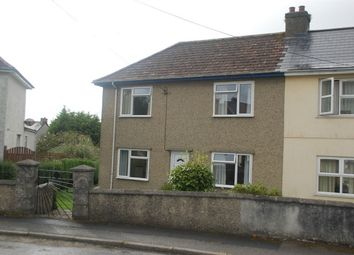 Thumbnail 2 bed semi-detached house for sale in Dobell Road, St Austell, Cornwall