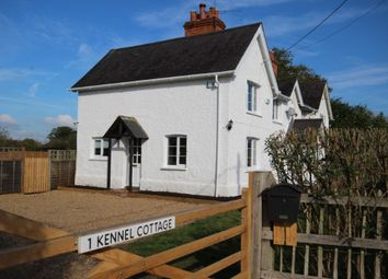 Thumbnail 4 bed semi-detached house to rent in Kennel Cottages, West End Road, Waltham St Lawrence, Reading
