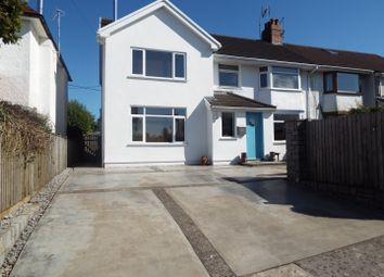 Thumbnail 4 bed semi-detached house for sale in 57 Pwll Du Lane, Bishopston, Swansea