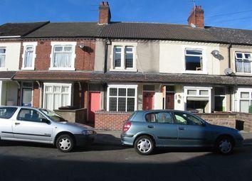 Thumbnail 3 bedroom property to rent in Gordon Street, Burton Upon Trent, Staffordshire