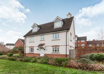 Thumbnail 4 bed detached house to rent in De Port Gardens, Chineham, Basingstoke