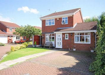 Thumbnail 3 bed detached house for sale in Airedale Close, Great Sankey, Warrington