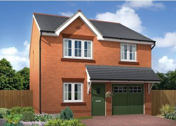 "Thumbnail 3 bedroom detached house for sale in ""Marford"" at Chester Lane, Saighton, Chester"