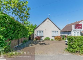 Thumbnail 3 bed detached bungalow for sale in Broadley Terrace, Common Road, Nazeing, Essex