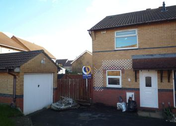 Thumbnail 2 bed semi-detached house to rent in Llanmead Gardens, Rhoose, Barry
