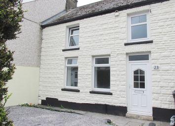 Thumbnail 2 bed terraced house for sale in High Street, Caeharris, Merthyr Tydfil
