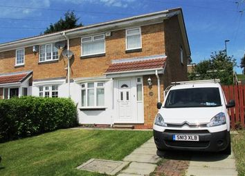 Thumbnail 3 bedroom semi-detached house for sale in Crofton Way, Newcastle Upon Tyne
