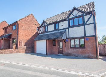 Thumbnail 4 bed detached house for sale in Meadowlands, Woolwell, Plymouth