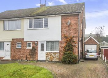 Thumbnail 3 bed semi-detached house for sale in Loxley Road, Glenfield, Leicester, Leicestershire