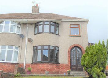 Thumbnail 3 bedroom property for sale in Bryn Llidiard, Litchard, Bridgend.