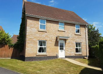 Thumbnail 4 bedroom detached house to rent in Rushton Drive, Carlton Colville, Lowestoft