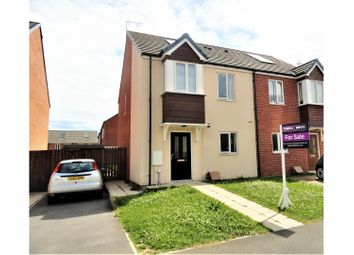 Thumbnail 2 bed semi-detached house for sale in Jamison Avenue, Redcar