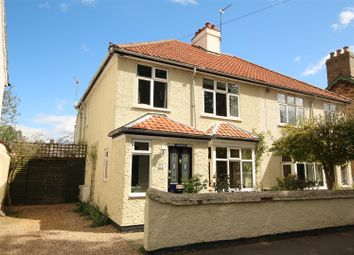 Thumbnail 3 bed semi-detached house for sale in High Street, Little Shelford, Cambridge