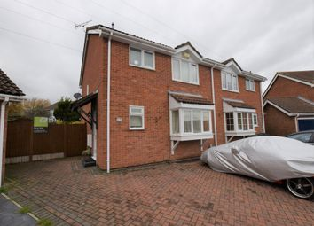 Thumbnail 3 bed semi-detached house for sale in Croftwood, Ashford