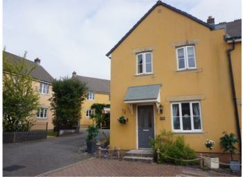 Thumbnail 3 bed end terrace house for sale in Larcombe Road, St. Austell