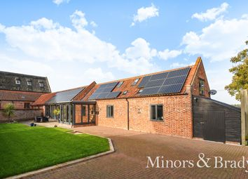 Thumbnail 4 bed barn conversion for sale in Woodbastwick Road, Blofield, Norwich