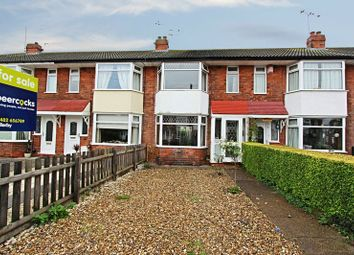 Thumbnail 3 bed terraced house for sale in Ridgeway Road, Hull