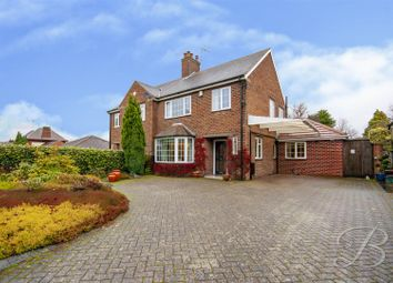 Thumbnail 3 bed semi-detached house for sale in Rufford Road, Edwinstowe, Mansfield