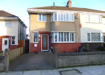 Thumbnail 3 bed semi-detached house for sale in Bradfield Avenue, Aintree, Liverpool