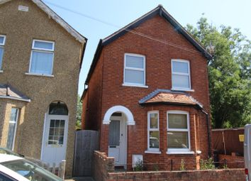 Thumbnail 3 bed detached house for sale in Glebe Road, Egham, Surrey