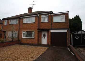 Thumbnail 4 bed semi-detached house for sale in Bramley Road, Birstall, Leicester